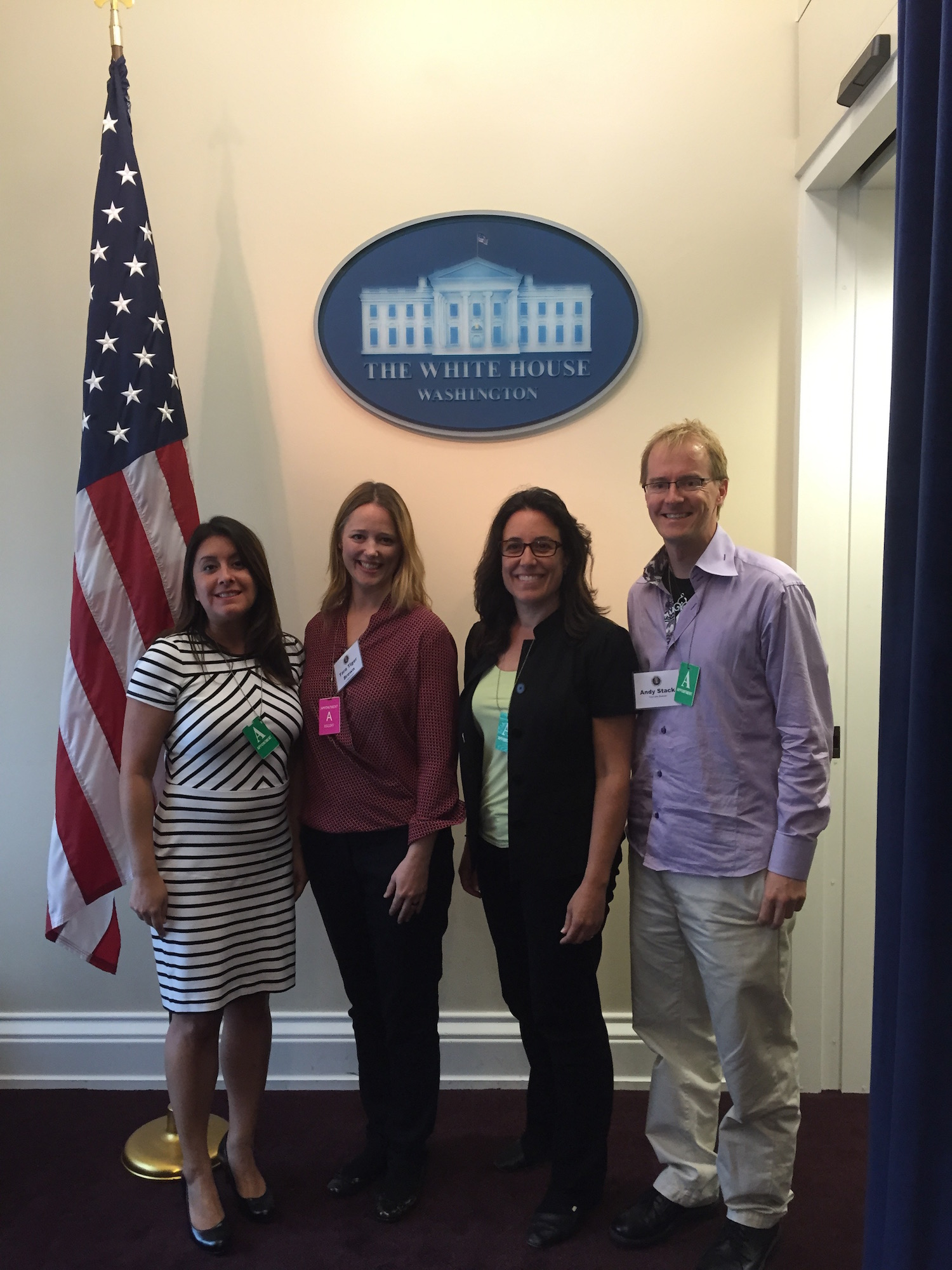 Tara Brown at White House Cities of Learning