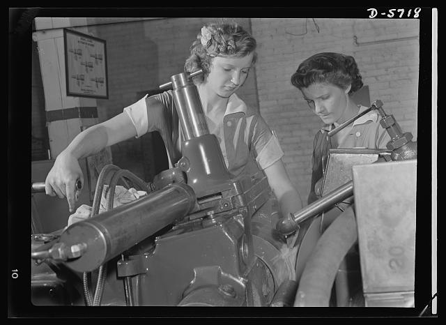 Women in Industry. Republic Drill and Tool Company, Chicago, Illinois