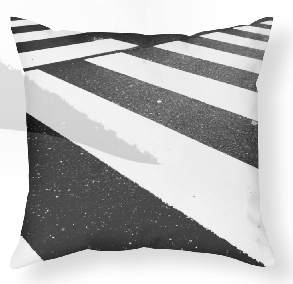 Street Sheets - Cross Stripe - Pillow